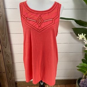 Beach Lunch Lounge  Scoop Neck PreLoved Top